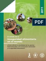 2011 - El Estado de La Inseguridad Alimentaria en El Mundo