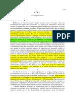 Panorama Para La Sociologia Contemporanea IV