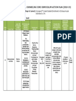 curriculum action plan c c