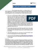 Molina Theissen Trial Factsheet