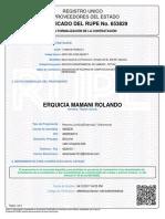 Certificado Rupe 1340627