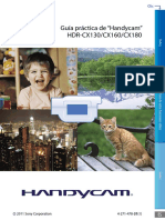 Hdrcx130 Cx160 Cx180 Handbook Es