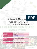 """""""Los seres vivos y su clasificación Taxonómica""""."""