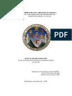 Manual de Organización EFPEM