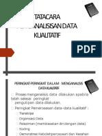 Tatacara Penganalisisan Data