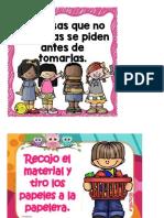 carteles DE NORMALIZACIÓN PARA IMPRIMIR