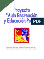 Proyecto recreacion