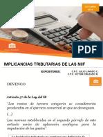 Sesion 8 - Controversias Fiscales Por Adopcion de Niif