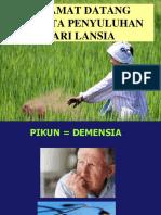245498902 Penyuluhan Demensia Ppt