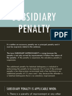Subsidiary Penalty RAWR