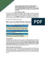 Calculo Del Salario y Nominas Diciembre 2017