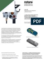 Manual de Uso IQ valvula motorizada