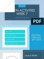 econ activities week 7