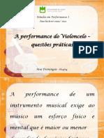 [Cliqueapostilas.com.Br] a Performance Do Violoncelo