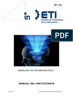 Manual Lenguaje de Programacion 1