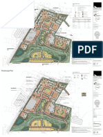 Drafts of plans for proposed village-style development in Susquehanna Township