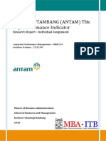 ANTAM KPI Weighting and Linkage