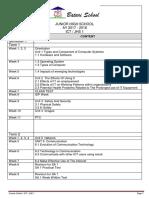 Course Outline - ICT JHS 1