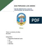 Monografia Etica Luisa