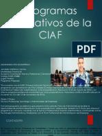 Programas Educativos de La CIAF
