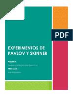 Experimentos de Pavlov y Skinner