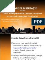 Prezentarea Lucrarii Disertatie