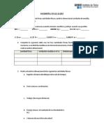 Ayudantía N°1 notación científica, prefijos, análisis dimensional, conversión de unidades