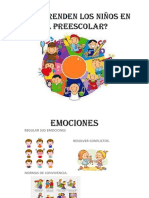 Que Aprenden Los Niños en El Preescolar Diapositivas 1