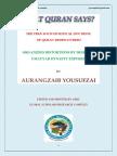 QuranicTranslation by Aurangzaib Yousufzai