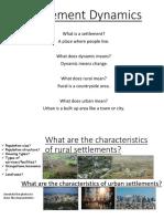 origin of urbanization