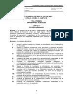 Ley de Desarrollo Forestal Sustentable Para El Estado de Campeche