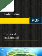 Easter Islands Site Report