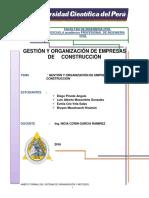 informe organizacion