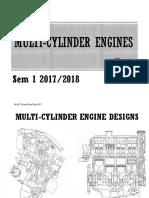 Chapter 7 Multi-Cylinder Engine
