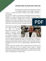 2006. PRIMERA VACUNA PARA ATACAR UNA CAUSA DE CÁNCER