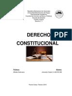 Derecho Constitucional Alumna Johandry Carpio