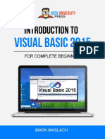 Introduction to Visual Basic 2015 - The Complete Beginner's Guide