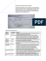 Sejarah Dan Perkembangan Organisasi Sektor Publik Dari Sudut Akuntansi