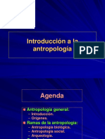 Introduccion a La Antropologia