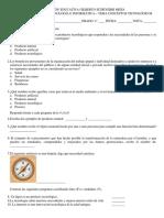 4.1 Evaluación Conceptos Tecnológicos