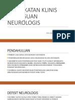 Pendekatan Klinis Gangguan Neurologis