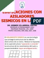 AISLADORES SISMICO