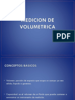 Medicion de Volumetrica