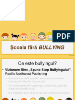PPT Scoala Fara Bullying