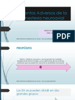 Eventos Adversos de La Anestesia Neuroaxial