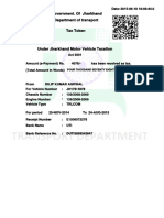 Duplicate Receipts for Vehicle Number JH17B5978paid on 2015-06-1818-03-44.0 and Printed on 2015-06-18