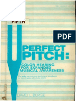 David Lucas Burge - Pefect Pitch - Color Hearing