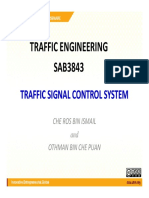 Traffic Signal Control System