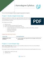 Syllabus-AndroidBasicsNanodegreeProgram