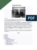 Piano Music of Gabriel Fauré